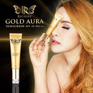 ครีมกันแดด Richest Premium Gold Aura Sunscreen