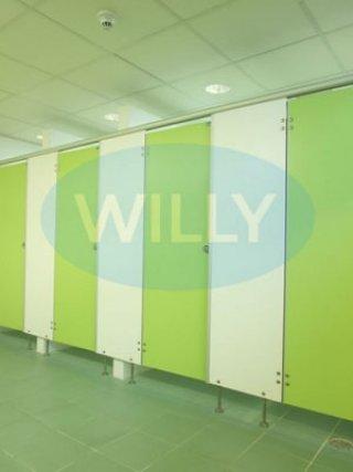 แผ่นกั้นห้องน้ำสำเร็จรูป WILLY