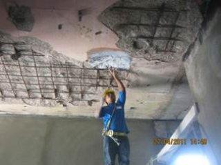 งานซ่อมคอนกรีตโครงสร้าง