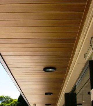 ฝ้าเพดานไม้เทียม