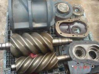 ซ่อม ปั๊มลมแบบสกรู Overhaul Screw Air Compressor