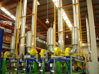 ฉนวนกันความร้อนในโรงงานอุตสาหกรรม