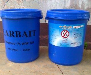 ผลิตภัณฑ์กำจัดลูกน้ำยุงลาย ลาร์เบท