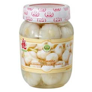 Seasoning Pickled Garlic