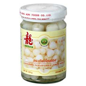 Seasoning pickled garlic-single head